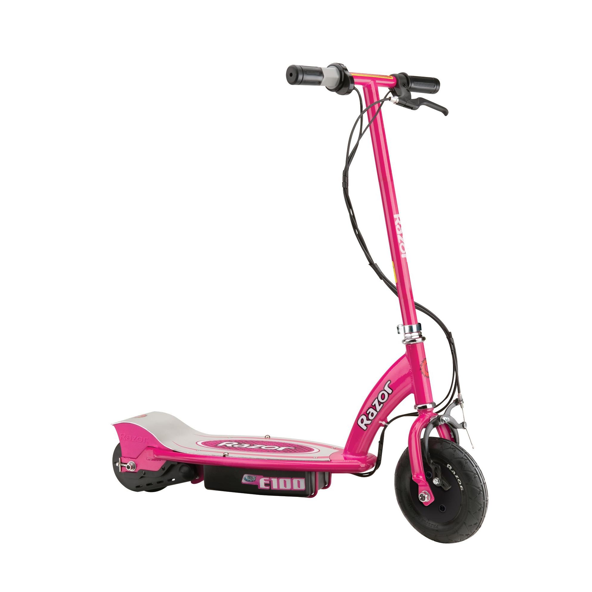 Razor Pink E100 Electric Scooter (E100 - Pink)