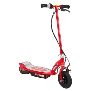 Razor E100 Red Plastic Electric Scooter