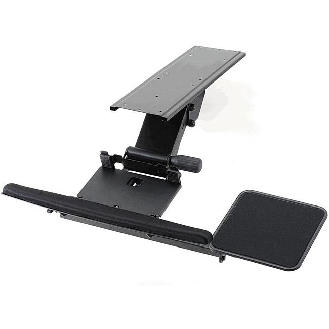 Cotytech Black Fully Adjustable Ergonomic Keyboard Mouse Tray