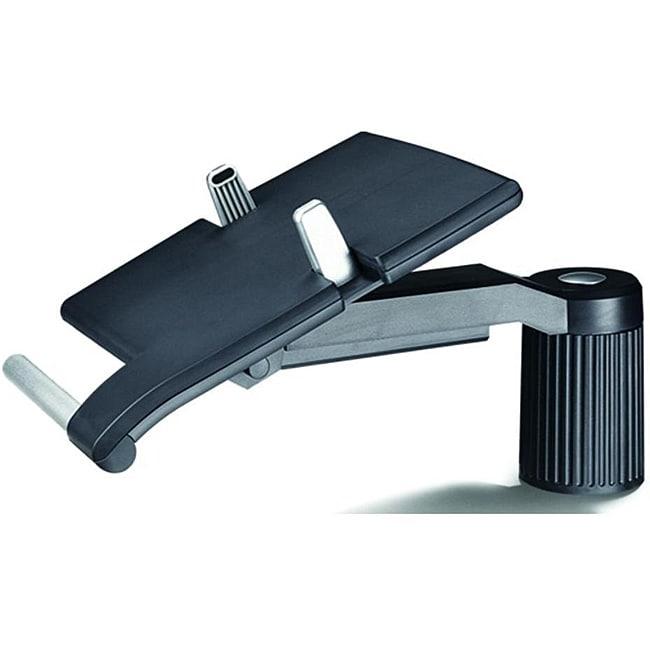 Cotytech Black Adjustable Desk Mount 360 Degree Rotating