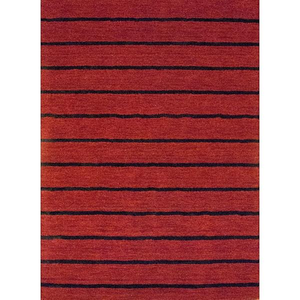 Herat Oriental Indo Hand-tufted Tibetan Wool Rug (6'6 x 4'8)