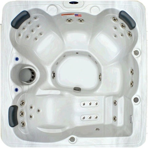 Home and Garden 5-person 51-jet Spa with Stainless Jets and Ozone Included