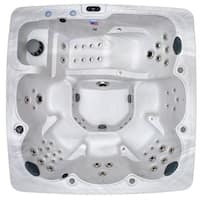 Home and Garden 6-person 90-jet Spa with MP3 Auxiliary Output and Ozone Included