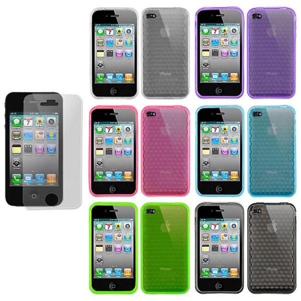 Apple iPhone 4 Diamond TPU Case