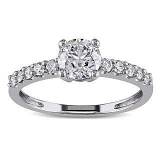 Miadora 14k White Gold 1ct TDW Certified Diamond Ring (G-H, I1-I2)