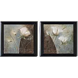 Patricia Pinto 'Magic Garden' 2-piece Framed Canvas Art