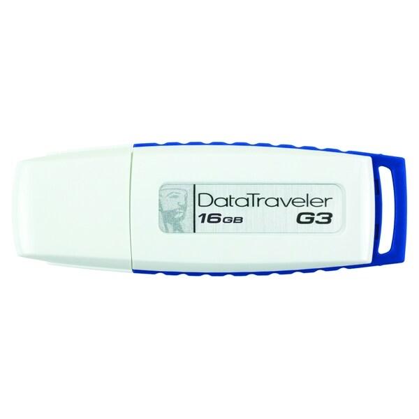Kingston 16GB DataTraveler G3 DTIG3/16GB USB 2.0 Flash Drive