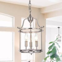 Copper Grove Trossachs Indoor 3-light Antique Nickel Chandelier