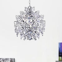 Shop chrome crystal chandelier free shipping today overstock silver orchid taylor elegant indoor 3 light chrome crystal chandelier aloadofball Gallery