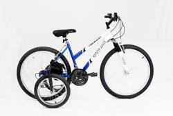 Titan Trailblazer 18-speed Adult Mountain Bike with Stabilizer Wheel Kit - Thumbnail 1