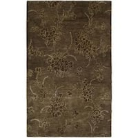 Safavieh Handmade Soho Fall Brown New Zealand Wool Rug - 8'3 x 11'