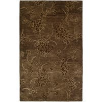 "Safavieh Handmade Soho Fall Brown New Zealand Wool Rug - 9'6"" x 13'6"""