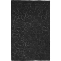 Safavieh Handmade Soho Loops Black New Zealand Wool Rug (3'6 x 5'6')