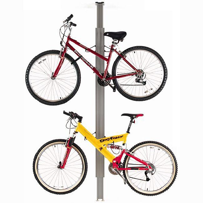 Sport Solutions Up and Away Floor-to-ceiling Aluminum Storage Bike Rack - Thumbnail 0