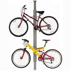 Sport Solutions Up and Away Floor-to-ceiling Aluminum Storage Bike Rack|https://ak1.ostkcdn.com/images/products/5186013/Sport-Solutions-Up-and-Away-Floor-to-ceiling-Aluminum-Storage-Bike-Rack-P13020987.jpg?impolicy=medium