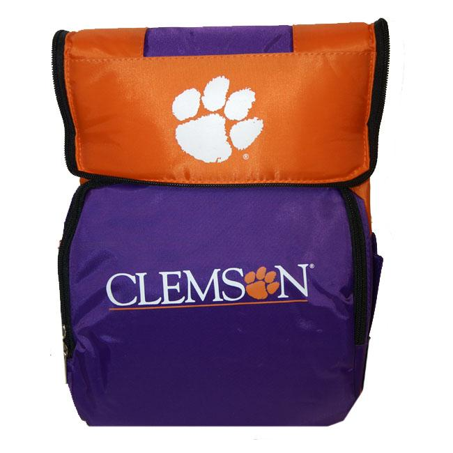 North Pole NCAA Clemson Tigers 18-can Cooler