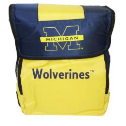 North Pole Michigan Wolverines 18-can Cooler - Thumbnail 0