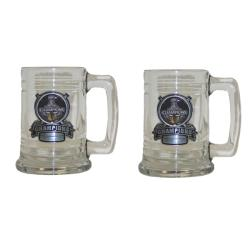 Chicago Blackhawks Stanley Cup Champion Tankards (Set of 2)