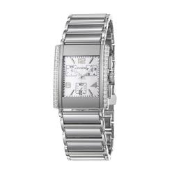 Rado Men's 'Integral Jubile' Ceramic/ Steel Quartz Diamond Watch