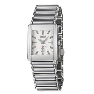 Rado Men's 'Integral' Ceramic/ Steel Date Automatic Watch