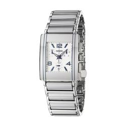 Rado Men's 'Integral' Stainless Steel/ Ceramic Quartz Watch