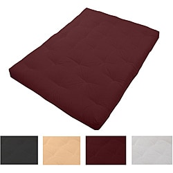 8-inch Loft Twin-size Cotton/ Foam Premiere Futon Mattress