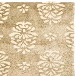 Safavieh Handmade Soho Seasons Beige New Zealand Wool Runner (2'6 x 10') - Thumbnail 1