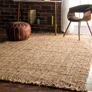 nuLOOM Handmade Eco Natural Fiber Chunky Loop Jute Rug (5' x 8')|https://ak1.ostkcdn.com/images/products/5186324/P13021238.jpg?impolicy=medium