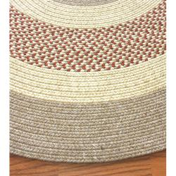 nuLOOM Handmade Reversible Braided Rust Lodge Rug (7'6 x 9'6 Oval) - Thumbnail 2