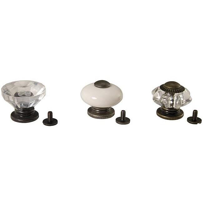Advantus Idea-Ology Antiqued Vintage Curio Knobs (Pack of...