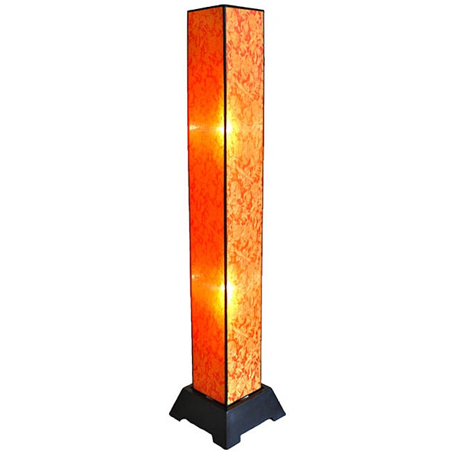 Tana Silk Citrus Floor Lamp (Vietnam)