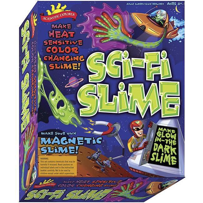 Scientific Explorers Sci-Fi Slime Activity Kit