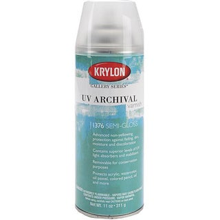 Krylon-UV Archival Aerosol 11-oz Varnish Spray