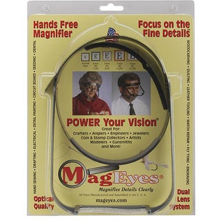 MagEyes Hands-free Full Circle Magnifier