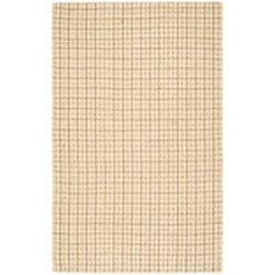 Safavieh Handmade South Hampton Basketweave Beige Rug (4' x 6') - Thumbnail 1
