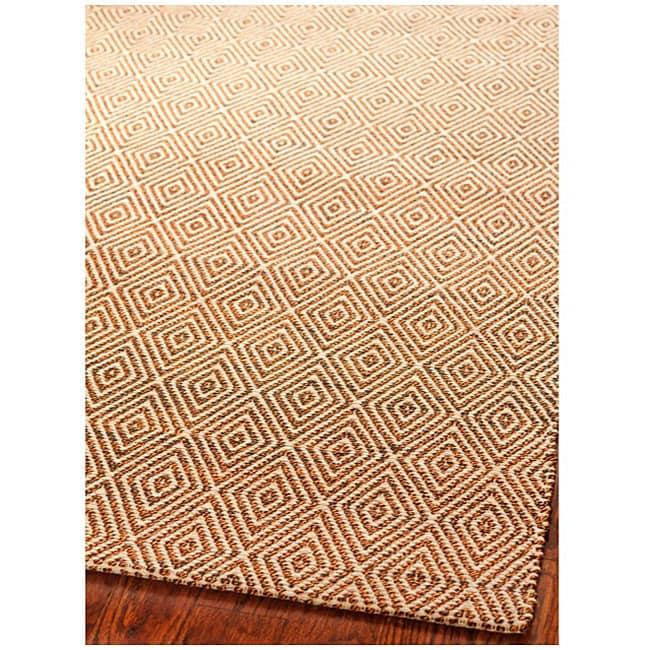 Safavieh Handmade South Hampton Zag Gold Rug (4' x 6')