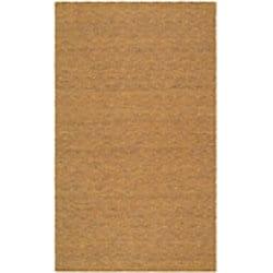 Safavieh Handmade South Hampton Zag Gold Rug (4' x 6') - Thumbnail 1