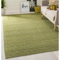 Safavieh Handmade South Hampton Zag Green Rug - 4' x 6'