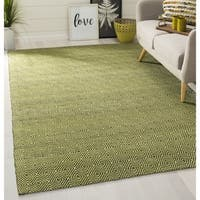 Safavieh Handmade South Hampton Zag Green Rug - 8' X 11'