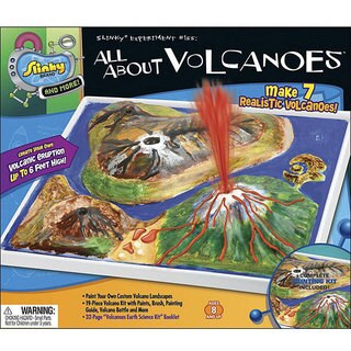 Slinky 'All About Volcanoes' Activity Kit