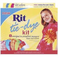 Rit Red, Blue, and Yellow Tie-dye Kit