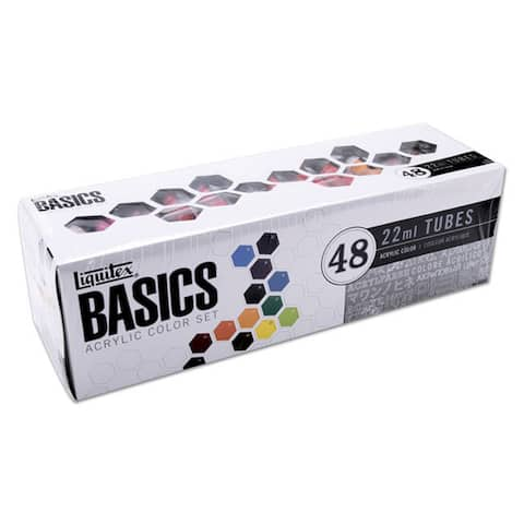 Liquitex Basics Acrylic 48-pc Paint Set