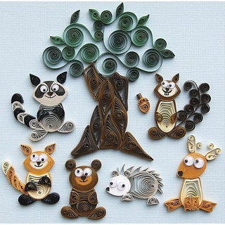Quilling Forest Buddies Kit