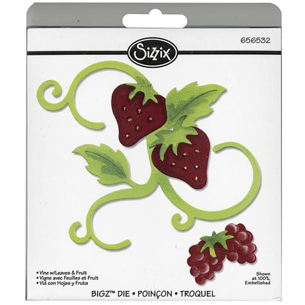 Sizzix 'Vine with Leaves & Fruit' Bigz Die
