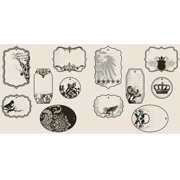 Custom Rockin' Royalty Cut-outs Tags