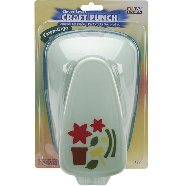 Xtra Giga Clever Lever Craft Punch (Floral)