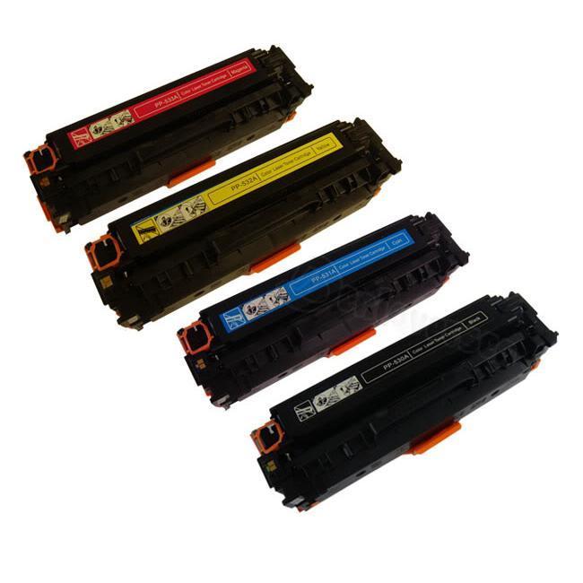 HP Color Set Laser Toner Cartridges (Remanufactured)