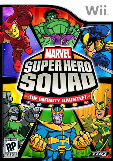 Wii - Marvel Super Hero Squad: The Infinity Gauntlet - By THQ