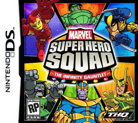 Nintendo DS - Marvel Super Hero Squad: The Infinity Gauntlet