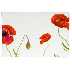 Red Vanilla Summer Sun Rectangular Platter